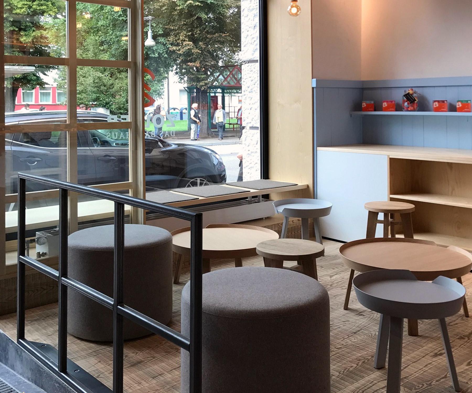 Eindrücke des neuen Backhaus Zoller Fachgeschäfts in der Charlottenstraße